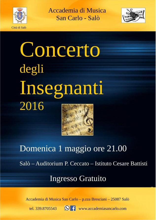 Locandina A3 Concerto Insegnanti 2016